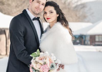 Téli esküvő Budapesten